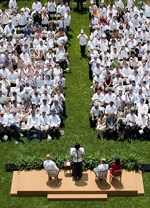 Chefs Move to Schools at the White House