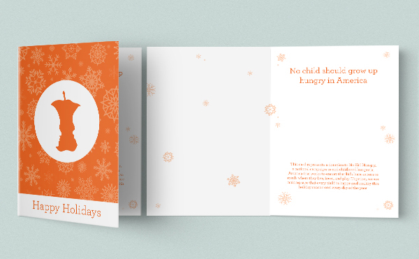 2017 No Kid Hungry Holiday Card