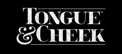 tongue cheek, miami logo